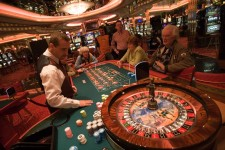 Playing Roulette at Casino Royale on Deck 4
